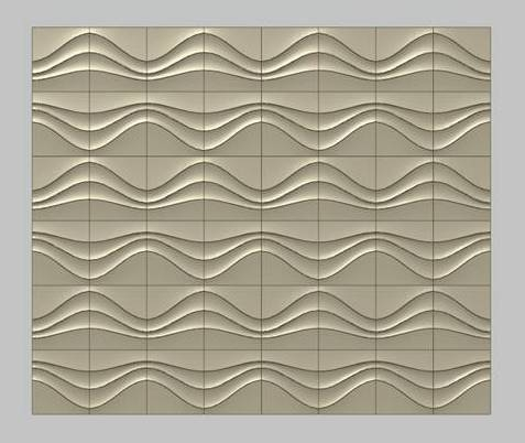 3D decorative stone panel
